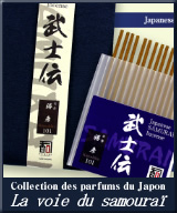 Collection des parfums du Japon - La voie du samouraï